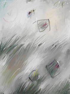 *CÉLULAS VOLADORAS* ~ Estos cuerpos microscópicos son células que se dejan llevar por el viento con el fin de la dispersión y así poder reproducirse con otras células igualmente viajeras. Estas células llevan información interesante que compartirán amablemente en el momento de la reproducción. ~ #art #arte #xavierfontcuberta #artistaespañol #artistacatalan #ipadart #print #draw #pintura #paint #abstract #abstractpainting #artgallery #artist #artwork #color #colour #creative #fineart #myart