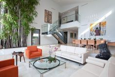 Golden Beach, Florida interior beach living by SDH Studio