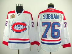 Montreal Canadiens 76 P.K. SUBBAN 2011 HERITAGE Classic Jersey