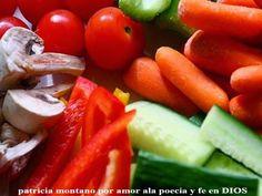 patricia montano por amor ala poecia y fe en DIOS: Qué comer para obtener todas las vitaminas