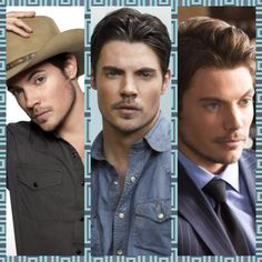 The beautiful Josh Henderson. John Ross is absolutely gorgeousssssss