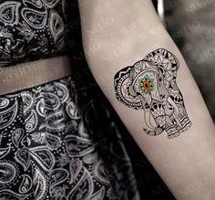 elephant tattoo designs (56)