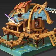 Del Goni's Angler's House