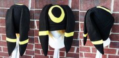 Umbreon Pokemon Hat A winter nerdy geekery gift by Akiseo on Etsy