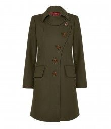 Green Love Coat