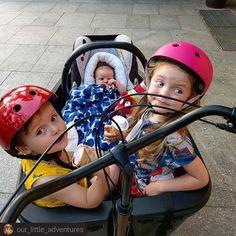 #Repost @our_little_adventures      Tak smakuje dzieciństwo . Uwielbiam sprawiać im radość robić małe i duże niespodzianki. Lody o 20.00 w tygodniu? Chyba nigdy nie będę należeć do mam które sztywno trzymają się zasad. Czasem małe odstępstwo nie zaszkodzi. Wręcz przeciwnie -  może po latach właśnie to będą pamiętać. Kolorową matkę z trójką maluchów na rowerze z którą można bylo zjeść lody tuż przed snem . #ourlittleadventures #kidsactivities #mojewszystko #rowerowarodzina #zRodzinaNaRower… Baby Strollers, Children, Instagram, Baby Prams, Kids, Prams, Strollers, Stroller Storage, Child