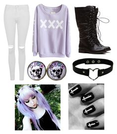 """""""tag"""" by ironically-a-strider21 ❤ liked on Polyvore featuring Topshop"""