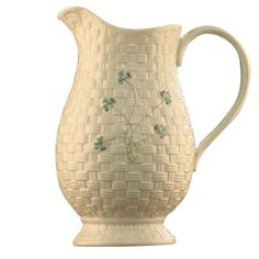 I pinned this Kylemore Pitcher from the Belleek event at Joss & Main!