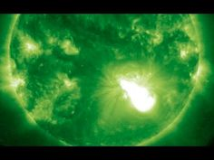 ▶ X Flare, UFOs During Eclipse | S0 News October 25, 2014 - YouTube