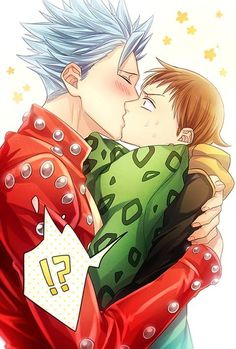Ban x King Why is this pairing close to non-existant???!!! T-T
