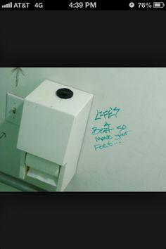 Bathroom Stall Workout pingreg pepper on bathroom art/no glory holes   pinterest