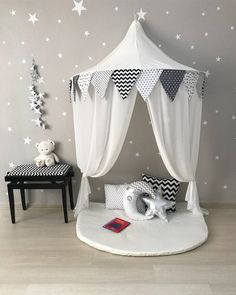 New Children Room Colors Reading Corners Ideas Reading Nook Tent, Reading Corner Kids, Kids Corner, Reading Corners, Children Reading, Girls Canopy, Diy Canopy, Tent Canopy, Crib Tent