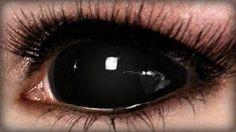Black Sclera Contact Lenses on ExtremeSFX.com