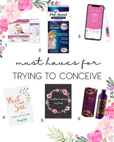 Must Haves When Trying to Conceive - Kisses + Caffeine Good Massage, Massage Oil, Trying To Get Pregnant, Getting Pregnant, Basal Body Temperature, Maternity Stores, Girl Nurseries, Conceiving, Trying To Conceive