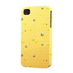 N Honey Bees Dimensional Apple iPhone Case