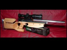 Actually a Crosman 1377 wildly customized from pistol into this rifle.