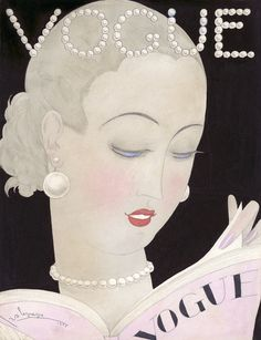 1926 Vogue Cover Illustrated by Georges Lepape