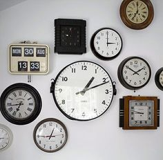 Clock wall ... and EVERYBODY knows ratty neeeeds this, LOL!