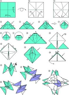 Diagrama del origami de la semana