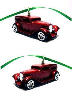 1932 Ford Hot Rod Car Christmas Tree Ornament #Maisto #Ford