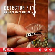 En Dadco Technology Chile nos encanta cuando nuestros clientes comparten con nosotros sus inquietudes, experiencias y hallazgos con su detector de metales. Esta oportunidad Fernanda, quien compró el detector de metales F11 de la marca Fisher nos mostró lo hallado en su primera detección con el detector F11.  Entre lo hallado, además de algunas monedas vemos un bonito anillo de plata. Fisher, Labs, Chile, Rings For Men, Jewelry, Gold Detectors, Silver Rings, Coining, Opportunity