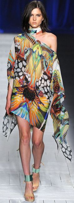Just Cavalli RTW Spring 2013♥✤ | Keep the Glamour | BeStayBeautiful