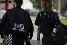 Up next in our ongoing coverage of Paris Fashion Week is a set of street style photos from Virgil Abloh's OFF-WHITE label.