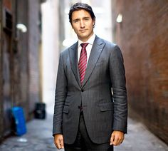 Canada's New Prime Minister (Liberal Party Leader) Justin Trudeau Is Super Hot - Us Weekly I'm hoping for change and perhaps this is a step in the new direction for Canada after the Harper Conservatives 9 years of power.