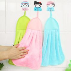 0.81$  Watch more here - http://aird2.worlditems.win/redirect/32748938137 - Cartoon Super Soft Coral Hair Towels Fleece Kid Child Towel Baby Wipe Sweat Hung Towels   #buymethat