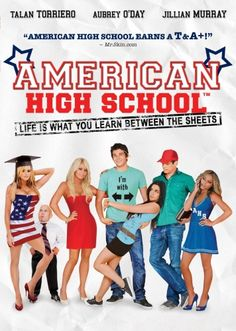 Watch American High School DVD and Movie Online Streaming American High School Movie, High School Movies, Online High School, High School Life, High School Posters, Jillian Murray, High School Couples, Aubrey O'day, Rent Movies