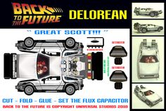 Regreso al futuro - Delorean por mikedaws