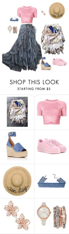 A fashion look from July 2017 featuring criss cross shirt, kenzo sneakers and gray jewelry. Browse and shop related looks. Eugenia Kim, Beaded Lace, Kenzo, Alexander Wang, Cross Body, Crossbody Bag, Bohemian, Fashion Looks, Polyvore
