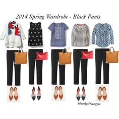 Spring Wardrobe - Black Pants