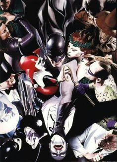 Batman Villains by Alex Ross