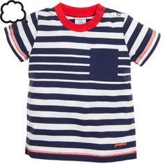 Striped Pocket T
