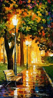 Leonid Afremov - Park Lights - Günter Tauchner - Google+
