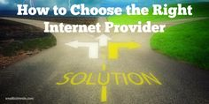 A lot is at stake with your business, if your Internet is slow or unreliable. Here are some important considerations to take into account to choose the best Internet service provider for your business. #spon