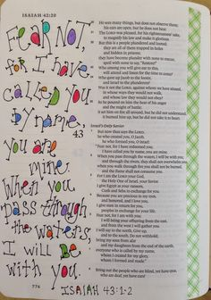 Vintage Grace-from Isaiah 43:1-2