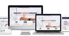 It Service Provider, Finding Yourself, Website, Business, Store, Business Illustration