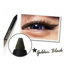 Clio Gelpresso Waterproof Pencil Gel Eyeliner Golden Black >>> Learn more by visiting the image link. Motorcycle Helmets For Sale, Motorcycle Jackets, Gel Eyeliner, Eyeshadow, Bluetooth Motorcycle Helmet, Womens Harley Davidson Boots, Eye Makeup, Pencil, Lipstick