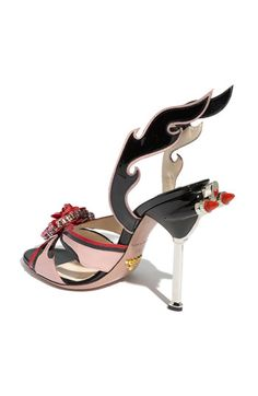 Because the devil really does wear prada. Crazy shoes but you have to love the crazy from time to time