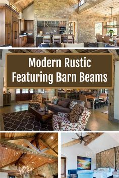 Hand Hewn Barn Beams direct from the farm. www.reclaimeddesignworks.com #barnwood #barn #modernrustic #interiordesign