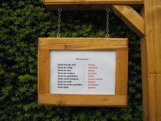 Gartendekoration - Wetterstein Wetterstation Holz Stein Hauseinwei... - ein Designerstück von zottelhexe bei DaWanda