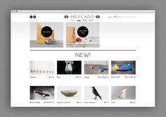 Mercado — Web Design http://studioahha.com/filter/identity/MERCADO
