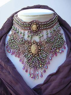 Goddess Abundanita Necklace by MoonGoddessJewellry on Etsy, $350.00