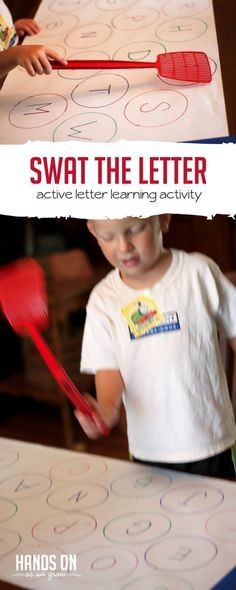 Find the Letter & Swat It! Active Way for Learning Letters!