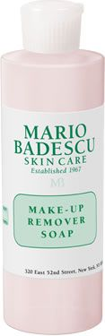 Make-up Remover Soap from Mario Badescu Skin Care via mariobadescu.com