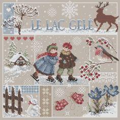 """""""Le Lac Gelé"""" CHART"""