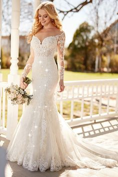 Charming Tulle Sheer Jewel Neckline Natural Waistline Mermaid Wedding Dress With Lace Appliques & Beadings