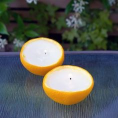 Velas naranja 1